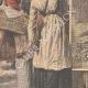 DÉTAILS 02 | Féminisme - La première colleuse d'affiches - Paris - 1908