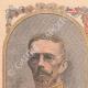 DETAILS 01   Portraits of Gustaf V of Sweden (1858-1950) and Victoria de Bade (1862-1930)