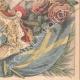 DETAILS 06   Portraits of Gustaf V of Sweden (1858-1950) and Victoria de Bade (1862-1930)
