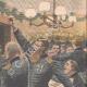 DÉTAILS 03   Sainte-Barbe - Fête traditionnelle - Banquet des pompiers - 1908 - France