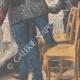 DÉTAILS 04   Sainte-Barbe - Fête traditionnelle - Banquet des pompiers - 1908 - France