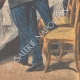 DÉTAILS 06   Sainte-Barbe - Fête traditionnelle - Banquet des pompiers - 1908 - France