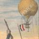 DETTAGLI 03 | Aerostato tedesco attaccato dai Cosacchi - 1908