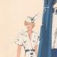 DETAILS 02 | Fashion Plate - Spring 1935 - Alpaga Marine et Piqué de Soie Blanc