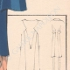 DETAILS 06 | Fashion Plate - Spring 1935 - Alpaga Marine et Piqué de Soie Blanc