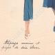 DETAILS 07 | Fashion Plate - Spring 1935 - Alpaga Marine et Piqué de Soie Blanc