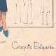 DETAILS 08 | Fashion Plate - Spring 1935 - Alpaga Marine et Piqué de Soie Blanc