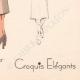 DETTAGLI 08 | Stampa di Moda - Primavera 1935 - Ensemble Trois Quarts en Crepalvac Beige