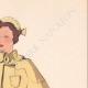 DETAILS 04   Fashion Plate - Spring 1935 - Crêpe de laine uni et fantaisie
