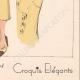 DETAILS 08   Fashion Plate - Spring 1935 - Crêpe de laine uni et fantaisie