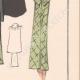 DETTAGLI 06 | Stampa di Moda - Primavera 1935 - Manteau Trois Quarts en poult de soie noir