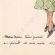 DETTAGLI 07 | Stampa di Moda - Primavera 1935 - Manteau Trois Quarts en poult de soie noir