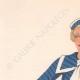 DETTAGLI 01   Stampa di Moda - Primavera 1935 - Alpaga façonné marine et blanc