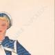 DETTAGLI 04   Stampa di Moda - Primavera 1935 - Alpaga façonné marine et blanc