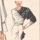 DETTAGLI 06 | Stampa di Moda - Primavera 1935 - Gros marocain blanc et noir