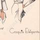 DETTAGLI 08 | Stampa di Moda - Primavera 1935 - Gros marocain blanc et noir