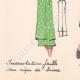 DETTAGLI 07 | Stampa di Moda - Primavera 1935 - Incrustations faille sur crêpe de laine