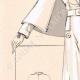 DETTAGLI 02 | Stampa di Moda - Primavera 1935 - Lainage fantaisie blanc revers formant cape