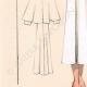 DETTAGLI 03 | Stampa di Moda - Primavera 1935 - Lainage fantaisie blanc revers formant cape