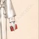 DETTAGLI 05 | Stampa di Moda - Primavera 1935 - Lainage fantaisie blanc revers formant cape