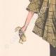 DETAILS 02 | Fashion Plate - Spring 1935 - Taffetas façonné jaune et noir