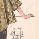 DETAILS 05 | Fashion Plate - Spring 1935 - Taffetas façonné jaune et noir