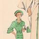DÉTAILS 02 | Gravure de Mode - Printemps 1935 - Romain de laine incrustations piquées