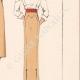 DETTAGLI 06 | Stampa di Moda - Primavera 1935 - Gros shantung maïs et blanc