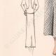 DETAILS 03 | Gravura de Moda - Primavera 1935 - Lainage pied de poule et jersey rouille