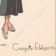 DETAILS 08 | Fashion Plate - Spring 1935 - Faille unie et ecossais