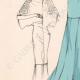 DETALLES 03 | Grabado de Moda - Primavera 1935 - Ensemble de caraména bleu