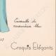 DETALLES 08 | Grabado de Moda - Primavera 1935 - Ensemble de caraména bleu