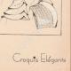 DETTAGLI 08   Stampa di Moda - Primavera 1935 - Manteau blanc