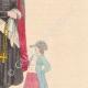 DETTAGLI 04 | Costume tipico delle donne nei dintorni di Praga - Boemia (Repubblica Ceca)