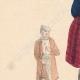 DETTAGLI 02 | Costume Tipico - Sassonia - Contadino di Wenden e donna di Altenburg (Germania)