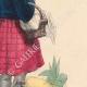 DETTAGLI 05 | Costume Tipico - Sassonia - Contadino di Wenden e donna di Altenburg (Germania)