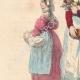 DÉTAILS 02   Costumes typiques des femmes du Mâconnais et de la Bresse (France)