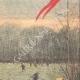 DETTAGLI 04 | Un dirigibile atterra sul prato di Bagatelle a Parigi - Francia - 1909
