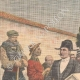 DETAILS 01   Burial of a victim by the Confrérie des Charitables de Saint-Éloi - Béthune - France - 1909