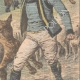 DETTAGLI 04 | Aquile attaccano le pecore vicino a Lorient - Francia - 1909