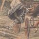 DETAILS 02 | Bandit disguised as a woman attacks a farmer near Téteghem - France - 1909