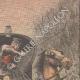 DETAILS 03 | Bandit disguised as a woman attacks a farmer near Téteghem - France - 1909