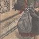 DETTAGLI 02 | Un guardiano ucciso da un treno all'passaggio a livello di Saint-Fons - Francia - 1909