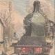 DETTAGLI 03 | Un guardiano ucciso da un treno all'passaggio a livello di Saint-Fons - Francia - 1909