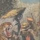 DETTAGLI 03   Un uomo attaccato da una tigre in Congo - 1909