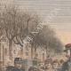 DETALLES 01 | Antimilitarismo - Desfile militar Cours de Vincennes - Francia - 1909