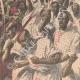 DETTAGLI 02 | Fanatismo in un luogo di pellegrinaggio musulmano a Kerbala - Persia - 1909
