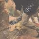 DETALJER 05 | En målare attackerad av en boa i sin ateljén - Tyskland - 1909