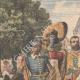 DÉTAILS 01 | Annonce traditionnelle de la naissance d'une princesse en Hollande - 1909
