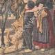 DÉTAILS 06 | Annonce traditionnelle de la naissance d'une princesse en Hollande - 1909